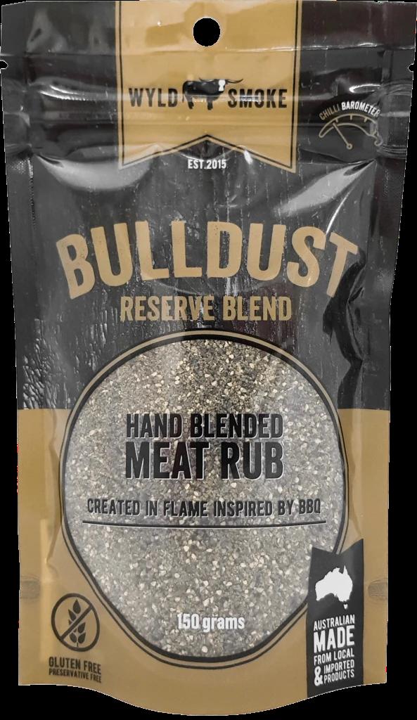 Wyld Smoke Bulldust Reserve Blend Rub